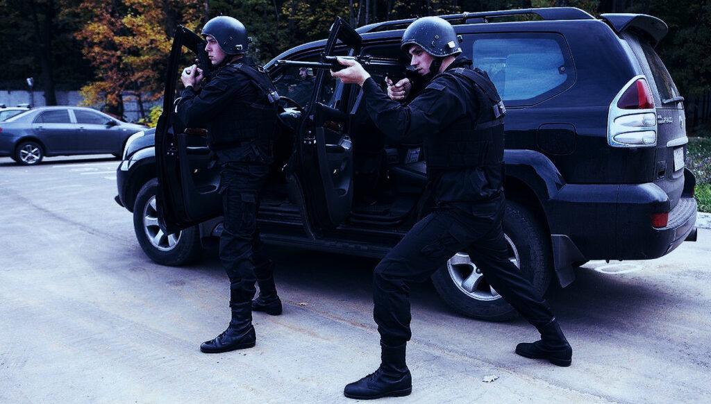 ГБР-группа быстрого реагирования-охрана