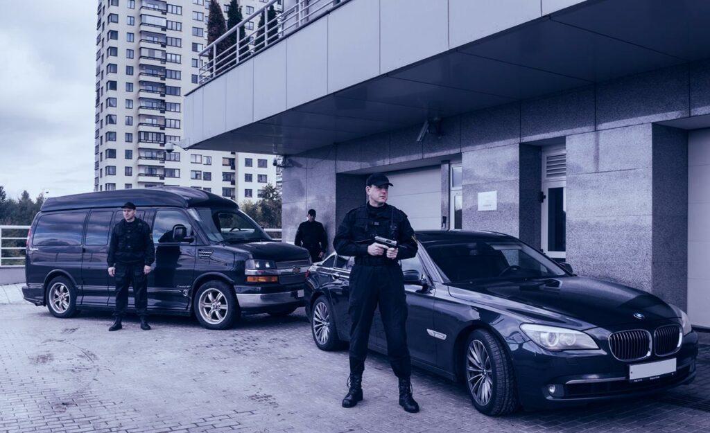 Организация вооруженной охраны объекта